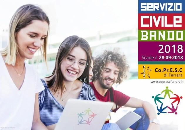 Nuovo Bando di Servizio Civile 2018