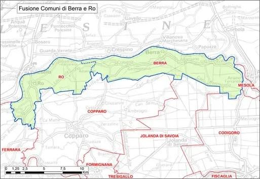 Berra e Ro, Tresigallo e Formignana: domani alle urne più di 16mila ferraresi per fusione comuni