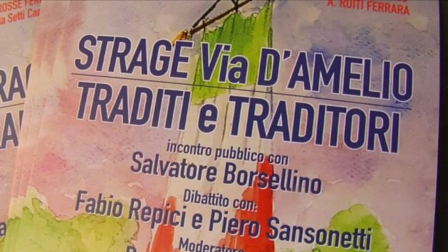 Salvatore Borsellino a Ferrara – VIDEO