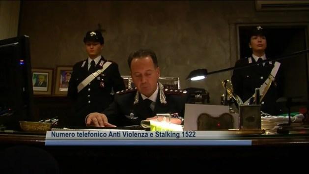 """Violenza sulle donne, carabinieri: """"Non abbiate paura"""""""