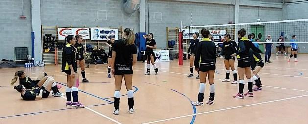 Volley B2 f. FRUVIT: mal di trasferta