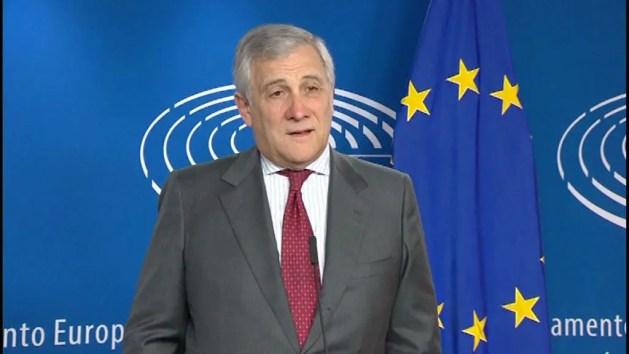 """Bruxelles, Presidente Tajani: """"Azzerati banche da risarcire"""" – VIDEO"""