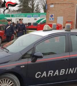 carabinieri cc longastrino stazione treni