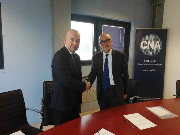 Accordo di partnership firmato tra BPER e CNA Ferrara