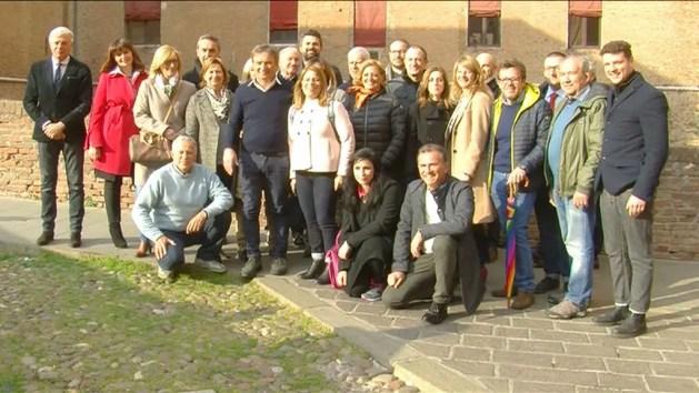 Ferrara Cambia si presenta per portare Alan Fabbri sindaco della città – VIDEO