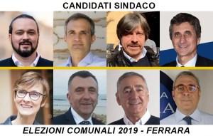 Candidati sindaco elezioni comunali ferrara 2019