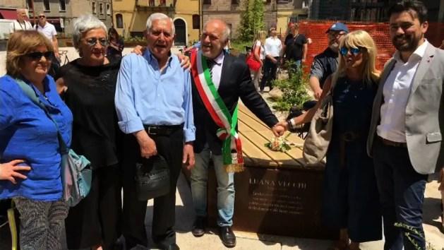 Piazza Verdi inaugura in ricordo di Luana Vecchi – VIDEO