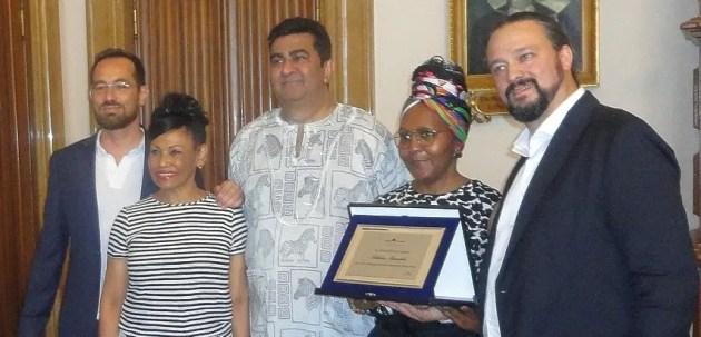"""La nipote di Nelson Mandela a Ferrara per il concerto solidale dei """"Liberation Project"""""""