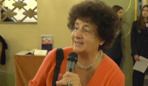 """Paola Bassani """"Sono orgogliosa della decisione di Ferrara di conferire la cittadinanza ad honorem a Liliana Segre"""