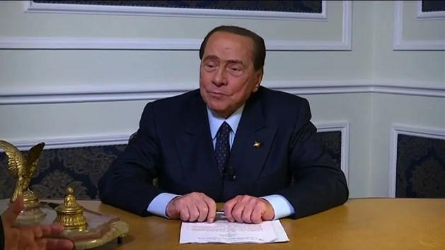 """""""Il sistema E-R è sofferente in molti settori"""" – INT. Berlusconi, leader di Forza Italia"""
