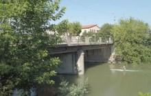 Idrovia Ferrarese, Bonaccini visita il cantiere di Ponte Bardella a Ferrara – VIDEO