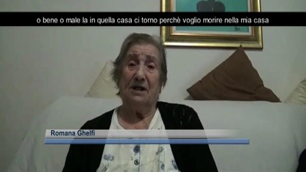 """""""Voglio tornare a casa mia"""": l'appello di una ferrarese di 91 anni – VIDEO"""
