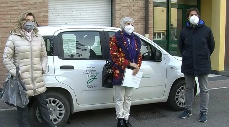 donazione caricento auto e defibrillatori