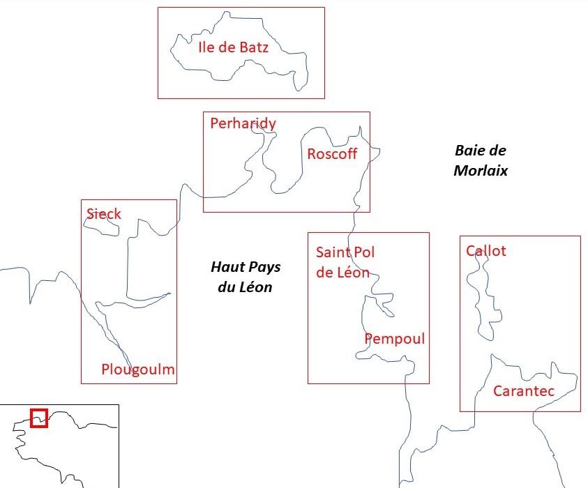 Sejour Grande Maree Haut pays du Léon