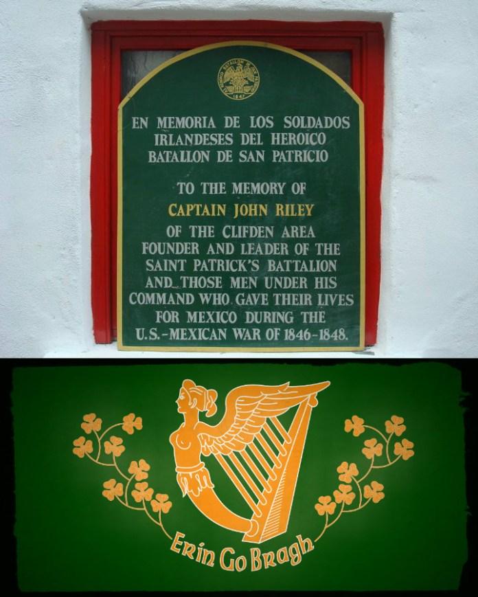 Image result for Saint Patrick's Battalion: Irishmen who defended Mexico