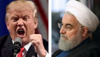 U.S. President Donald Trump (left) and his Iranian counterpart Hassan Rouhani have exchanged statements as tensions escalate between nations.