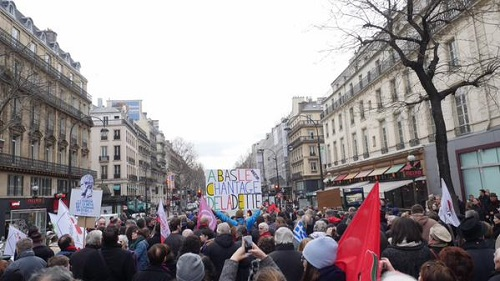 Demonstrations in Paris