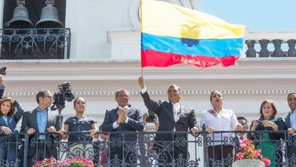El mandatario ecuatoriano ha mantenido su llamado al diálogo desde el inicio de la desestabilización en el país.