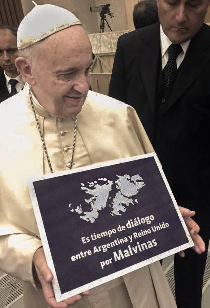 El papa Francisco también dio su bendición a la campaña.