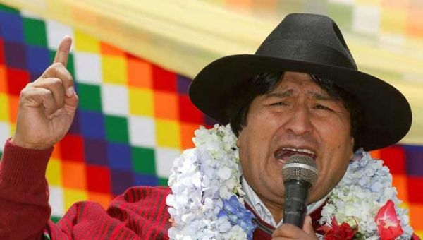 President Evo Morales was sworn-in 10 years ago.
