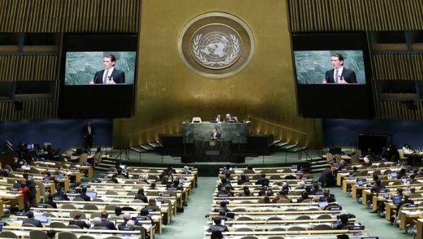 Desde 1992, Cuba ha llevado su propuesta de resolución para poner fin al bloqueo económico, comercial y financiero impuesto por EE.UU.
