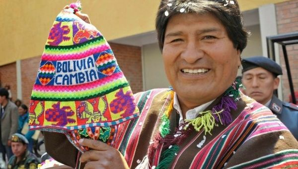 El presidente de Bolivia, Evo Morales, asumió la presidencia hace una década con la presentación de una propuesta de renovación y de gobierno social y popular.