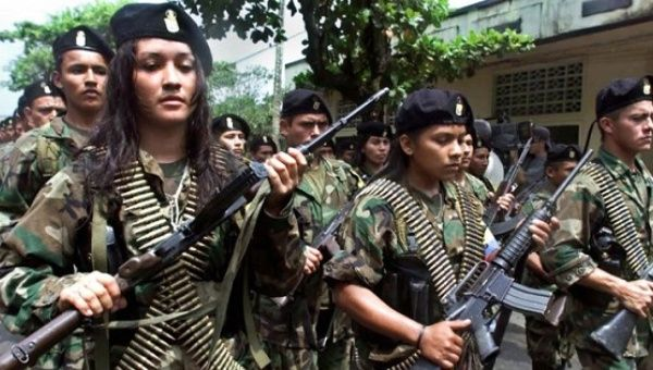 The FARC rose up in 1964 and has an estimated 8,000 fighters.
