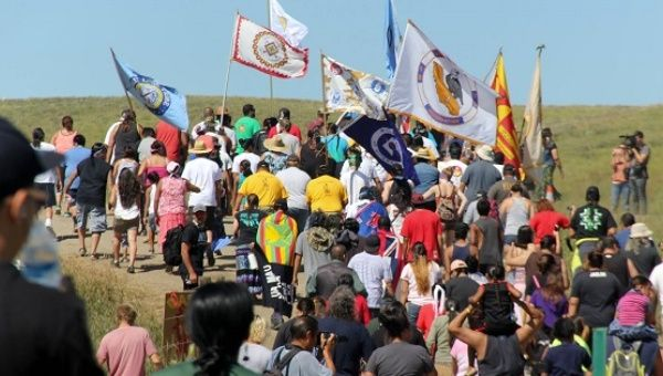 Some 188 Tribes, or Native Nations, from across the United States and Canada have united to stop the US$3.8-billion Dakota Access Pipeline.