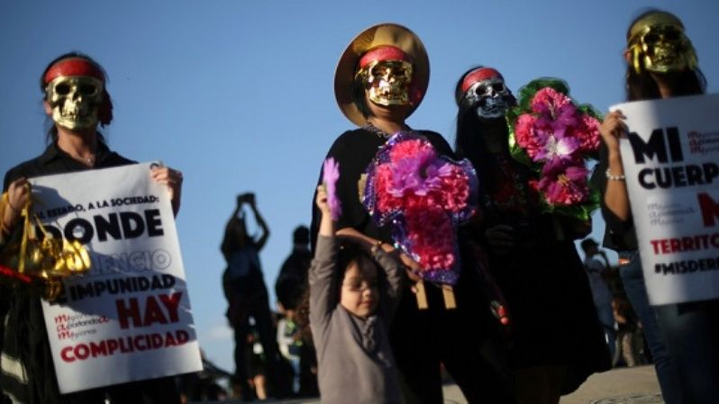 Women across Latin America took to the streets after a 16-year-old girl was raped and murdered in a coastal town of Argentina in October 2016.