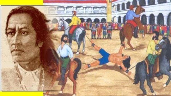 Túpac AmaruII es conocido como el líder de la mayor rebelión en Hispanoamérica durante el siglo XVIII.