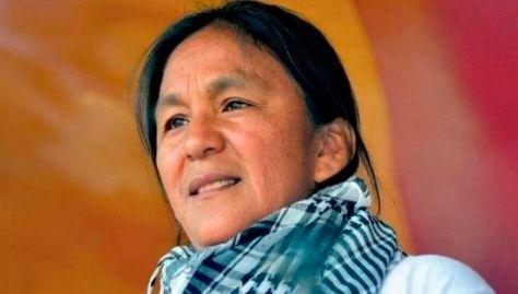 Milagro Sala fue detenida el 16 de enero mientras protestaba contra las políticas del gobernador Gerardo Morales.