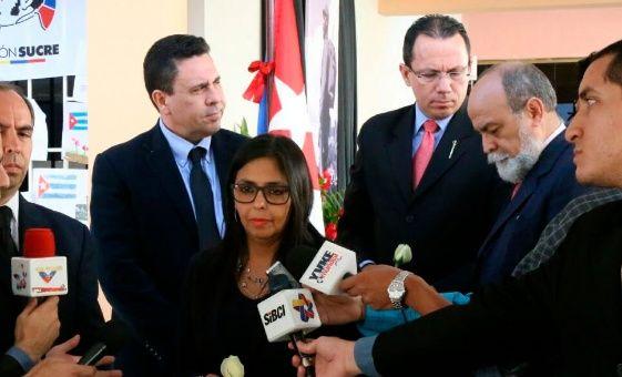 Rodríguez destacó que Venezuela seguirá frente a la presidencia del Mercosur.
