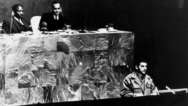 "El ""Che"" estuvo en la Asamblea General de la ONU el 11 de diciembre de 1964."