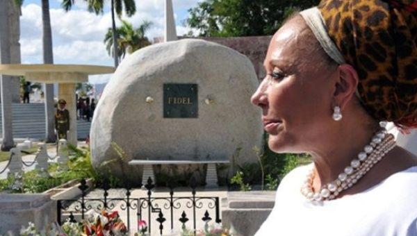 Piedad Cordoba said she wants Fidel Castro