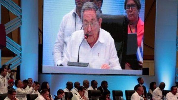 Regional leaders attend a speech of Cuban President Raul Castro during the Community of Latin American and Caribbean States (CELAC) summit, Jan. 25, 2017.
