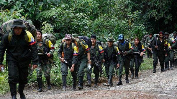 Este jueves terminan los desplazamientos de los insurgentes a las zonas de concentración.