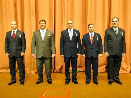 Los Cinco Héroes de la República de Cuba.