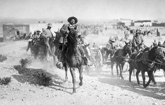 Batalla de Columbus, comandada por el general mexicano Pancho Villa.