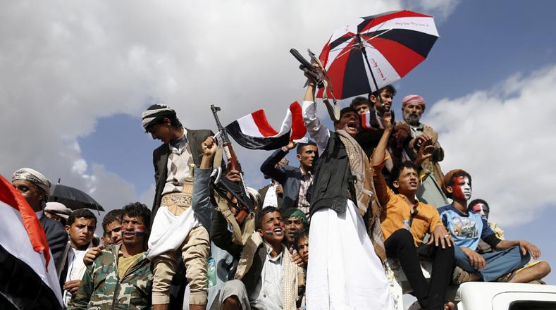 Tras dos años de conflictos, partidarios del expresidente Alí Abdula Salé y el líder huti Abdul-Malek al-Huti, piden el fin de la guerra que ha dejado más de 10.000 civiles muertos.