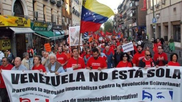 Más de 20 países del mundo manifestarán su solidaridad con el pueblo venezolano.