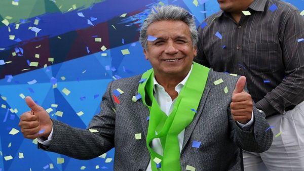 51,16 por ciento de los votos logró Moreno en el recuento de este 18 de abril.