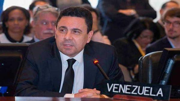 Samuel Moncada denunció que desde el bloque regional continúan con su labor para desestabilizar al Gobierno de Nicolás Maduro.