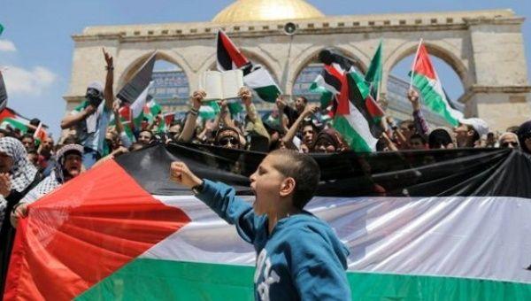Palestinians mark Nakba Day.