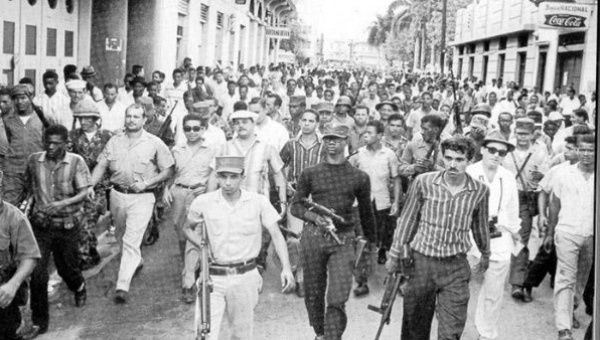 Armed workers and peasants were part of a military-civic alliance in the Dominican Republic.