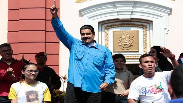 El jefe de Estado pidió la unión cívico-militar del pueblo venezolano y la solidaridad de países de Latinoamérica.