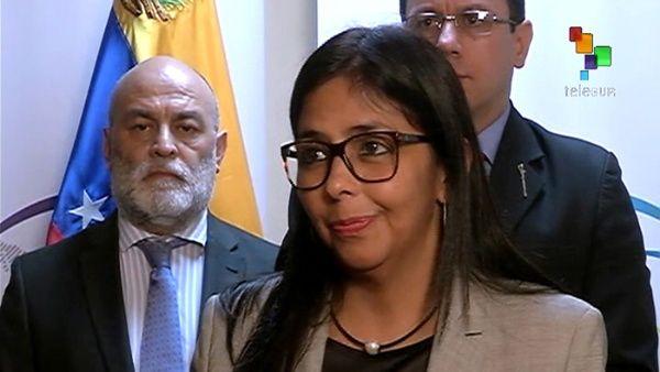 Rodríguez destacó el respaldo total que recibió el diálogo en Venezuela por parte de la Celac.