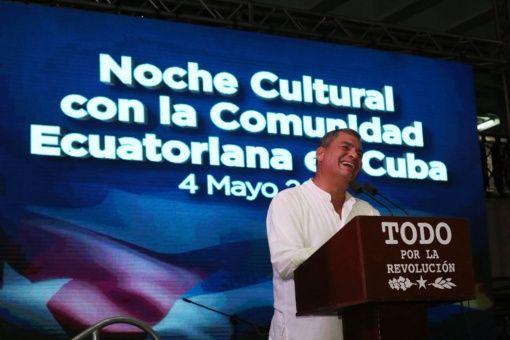 Resultado de imagen para Rafael Correa desde Cuba: Revolución Ciudadana en Ecuador no se detendrá