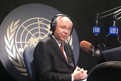 Rafael Ramírez, embajador de Venezuela en la ONU.