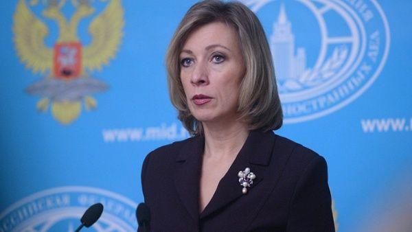 La portavoz de la Cancillería rusa, María Zajárova, hizo un llamado a la normalización, mediante la