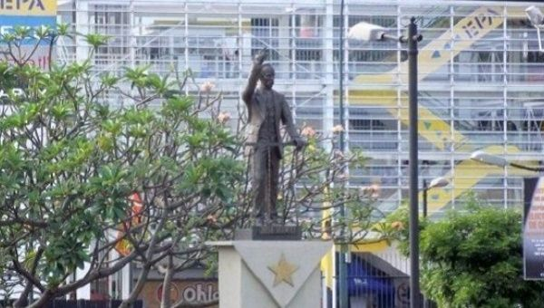 Statue of Jose Marti in Caracas.